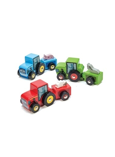 Le Toy Van Le Toy Van Traktör Beyaz